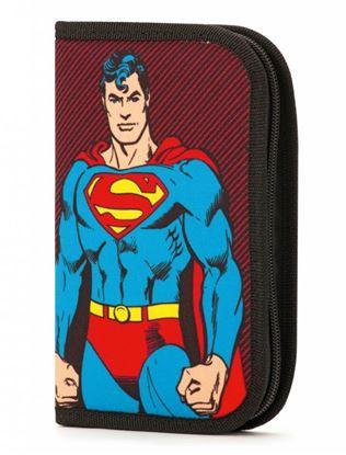 Obrázek Školní penál Superman - 1 patrový / 2 chlopně
