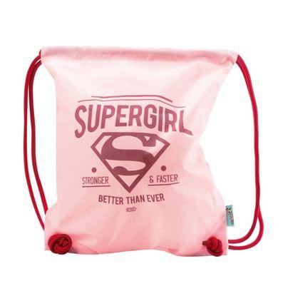 Obrázek Sáček na cvičky / přezuvky Supergirl Original