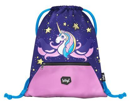 Obrázek Sáček na cvičky / přezuvky Unicorn