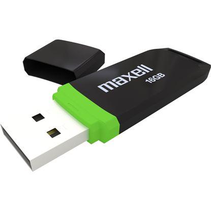 Obrázek Flash disc Black Maxell - černá / 16 GB / USB 2.0