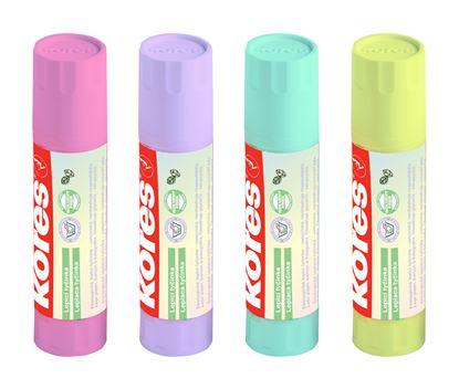 Obrázek Lepicí tyčinka Kores PASTEL - 20g / mix barev