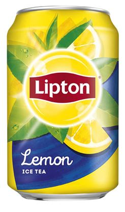 Obrázek Lipton ledový čaj - Ice Tea Lemon 0,33 l plech
