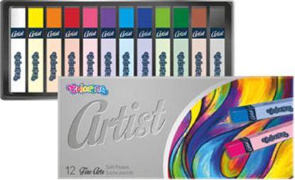 Obrázek Pastely suché Artist - 12 barev