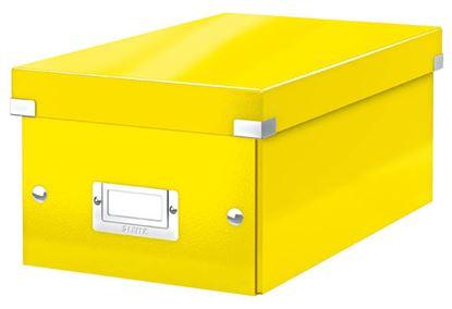 Obrázek Krabice Leitz Click & Store - na DVD / žlutá