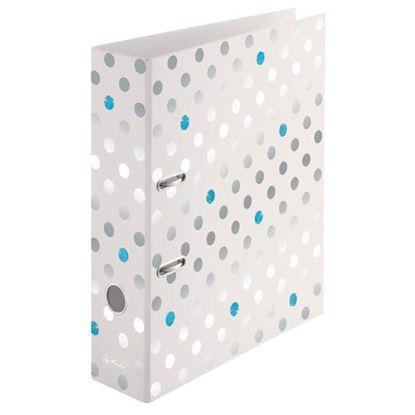 Obrázek Herlitz pořadač pákový A4 Frozen Glam 8 cm stříbrná