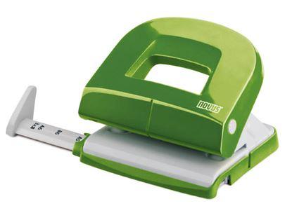 Obrázek Kancelářký děrovač Novus E 216 fresh - zelená