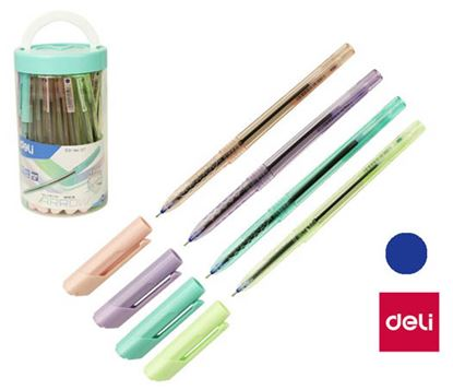 Obrázek Kuličkové pero DELI Arrow - pastelový mix