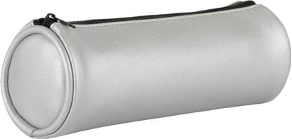 Obrázek Pouzdro na psací potřeby METALLIC - stříbrná