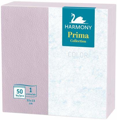 Obrázek Harmony Color papírové ubrousky fialové 1-vrstvé 33 x 33 cm 50ks