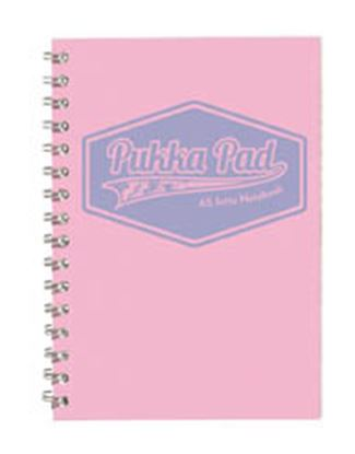 Obrázek Blok kroužkový Pukka Pad Pastel - A5 / linka / mix barev