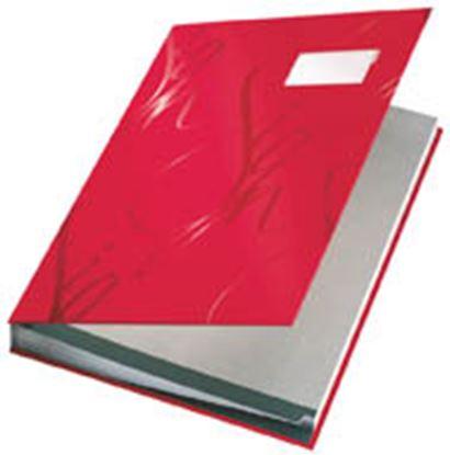 Obrázek Designová podpisová kniha - červená
