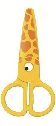 Obrázek KeyRoad nůžky dětské plastové Zvířátka barevný mix