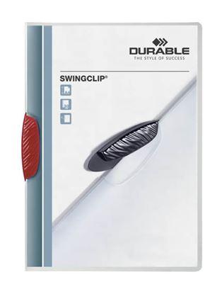 Obrázek Desky A4 Swingclip - kapacita 30 listů / červená