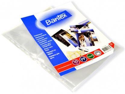 Obrázek Závěsný obal Bantex - A4 silný / kapsy na foto 15 x 21 / 10 ks