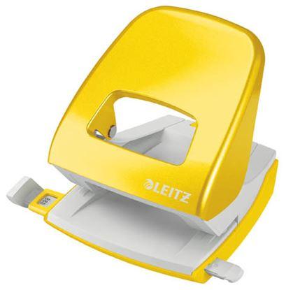 Obrázek Leitz NeXXt 5008 kancelářský děrovač metalická žlutá