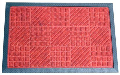 Obrázek Ekonomické rohože - 40 x 60 / červená