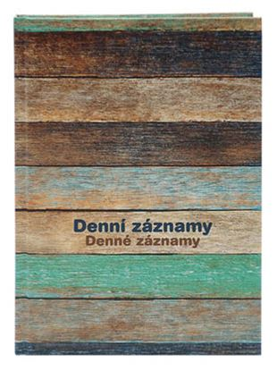 Obrázek Denní záznamy A5 - dřevo
