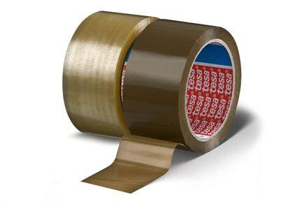Obrázek Balicí pásky - 25 mm x 66m / transparentní