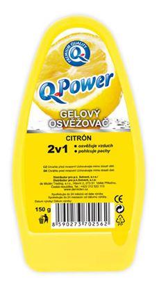 Obrázek Q-power gel citron 150 g
