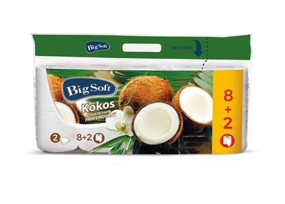 Obrázek Big Soft s vůní kokosu 2-vrtsvý 10ks