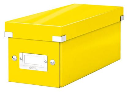 Obrázek Krabice Leitz Click & Store - na CD / žlutá