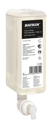 Obrázek Mýdllo pěnové Katrin - 1000 ml / neutrální bez parfemace