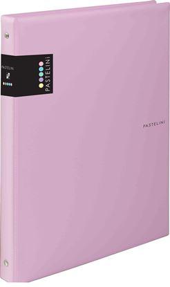 Obrázek Kroužkové záznamníky Karis PASTELINI - A4 / růžová