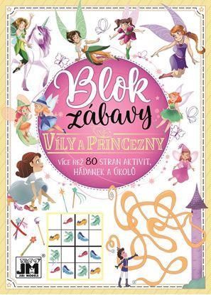 Obrázek Blok zábavy - Víly a princezny