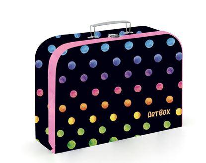 Obrázek Školní kufřík - Puntíky