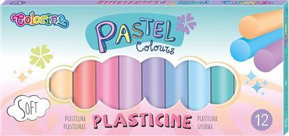 Obrázek Modelovací hmota - Pastel / 12 barev