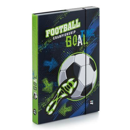 Obrázek Box na sešity A4 - Fotbal