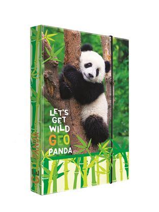 Obrázek Box na sešity A4 Jumbo -  Panda