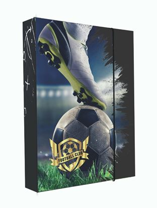 Obrázek Box na sešity A4 Jumbo - Fotball