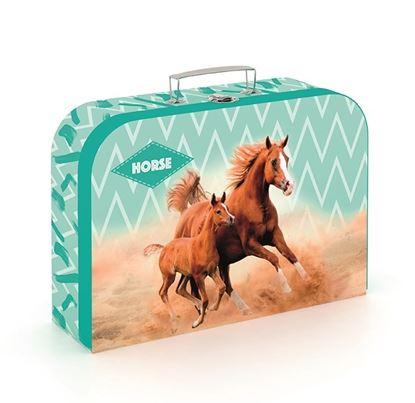 Obrázek Školní kufřík - Kůň hnědý