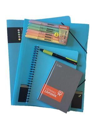 Obrázek Balíček pro učitelku - pastelová modrá