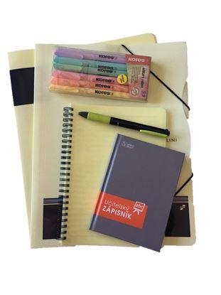 Obrázek Balíček pro učitelku - pastelová žlutá