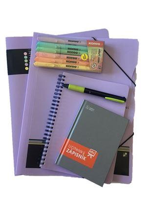Obrázek Balíček pro učitelku - pastelová fialová