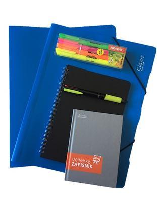 Obrázek Balíček pro učitele - modrá