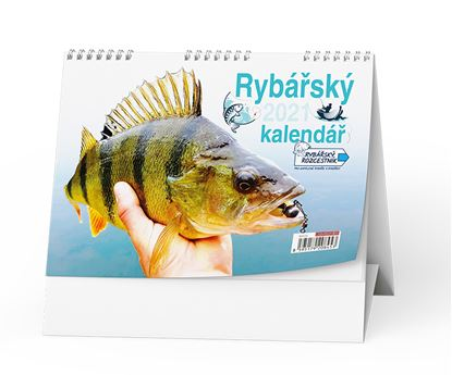 Obrázek Kalendář stolní -  Rybářský / BSC7