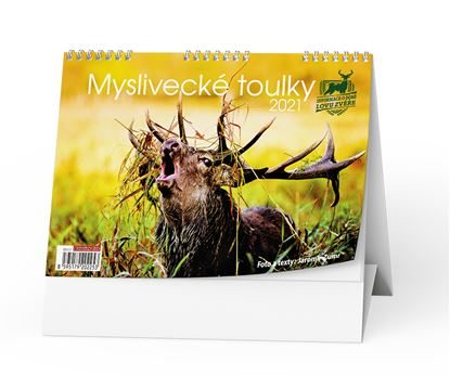 Obrázek Kalendář stolní  - Myslivecké toulky / BSC5