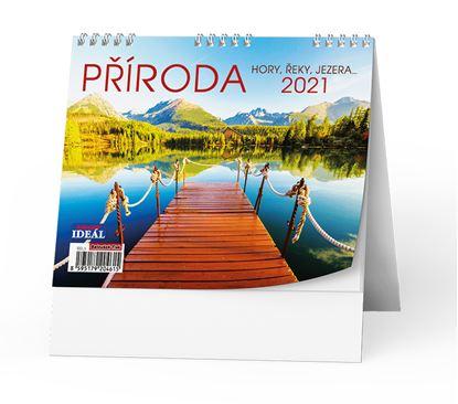 Obrázek Kalendář stolní  - Příroda / BSL5