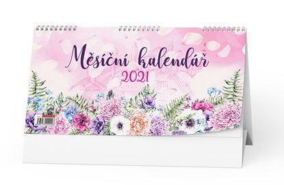 Obrázek Kalendář stolní Měsíční kalendář - BSE11