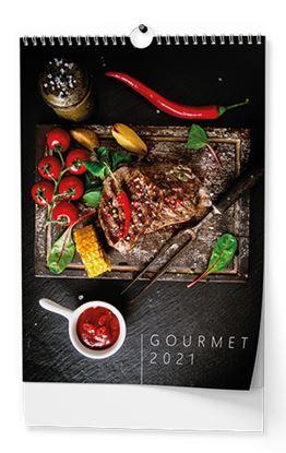 Obrázek Kalendář nástěnný - Gourmet / BNG11 / A3