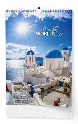Obrázek Kalendář nástěnný - Beautiful world / BNF6