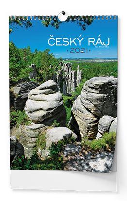 Obrázek Kalendář nástěnný -  Český ráj / BNK3 / A3