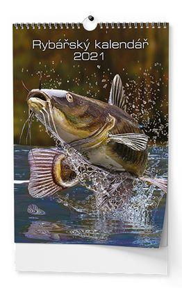Obrázek Baloušek tisk 2021 Rybářský - nástěnný kalendář BNF4