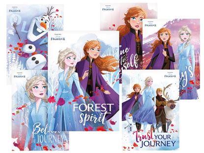 Obrázek Pohlednice dětské Frozen 2 - mix motivů