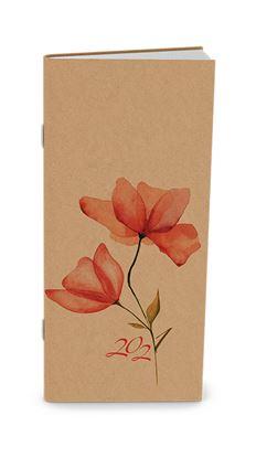 Obrázek Baloušek tisk Božka Kraft kapesní měsíční 2021 květy