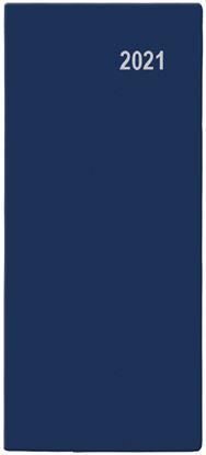 Obrázek Baloušek tisk Božka PVC kapesní měsíční 2021 modrá
