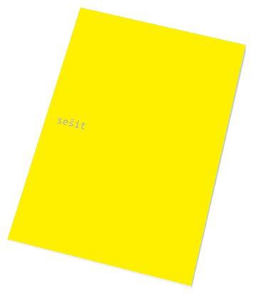 Obrázek Sešit A4 / 40 listů / linka - 444 / mix barev